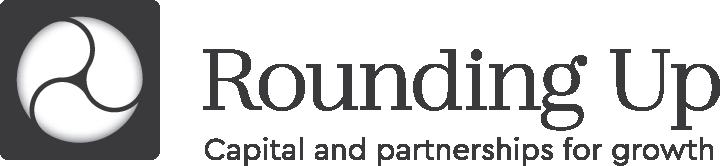 Rounding-up logo
